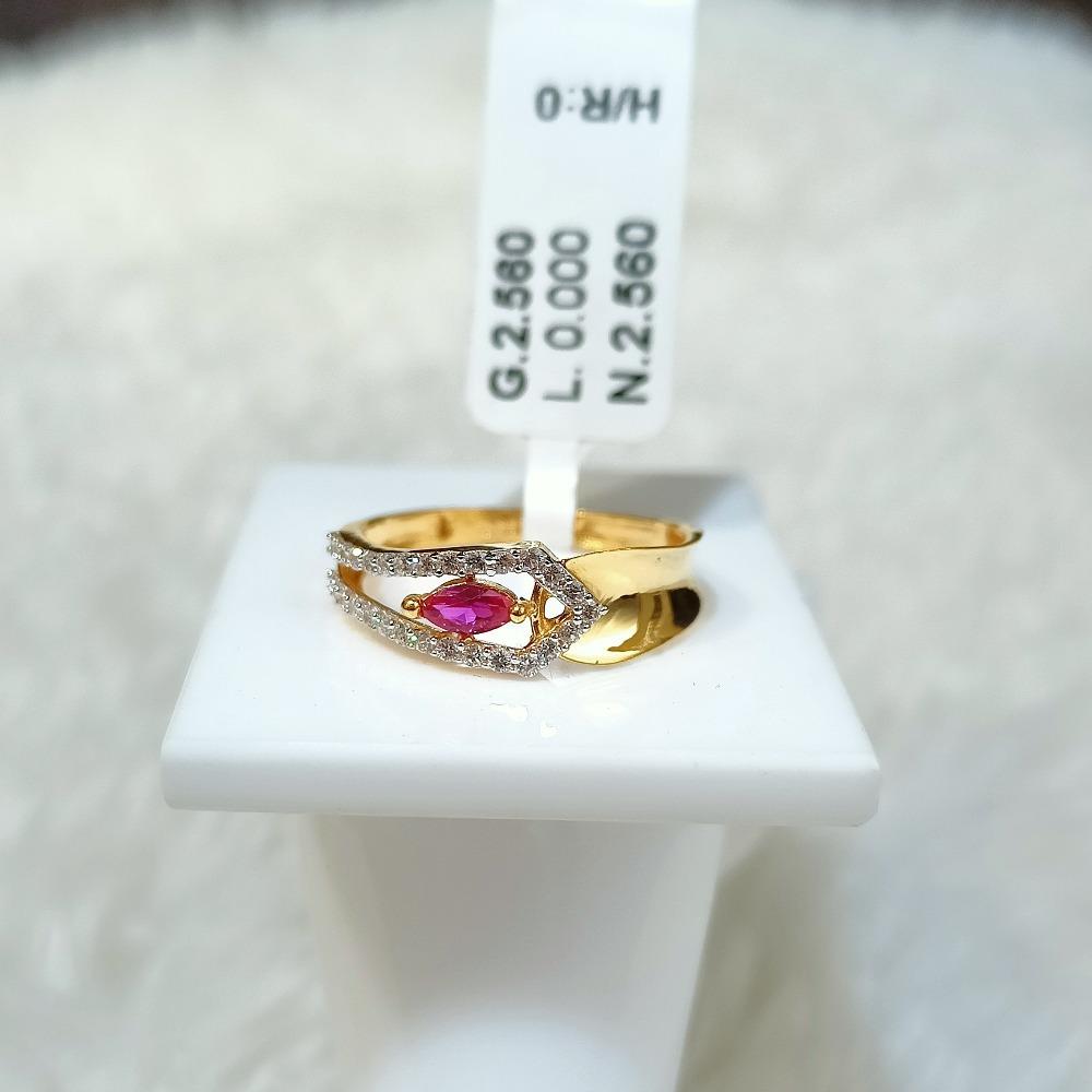 22 kt fancy ring