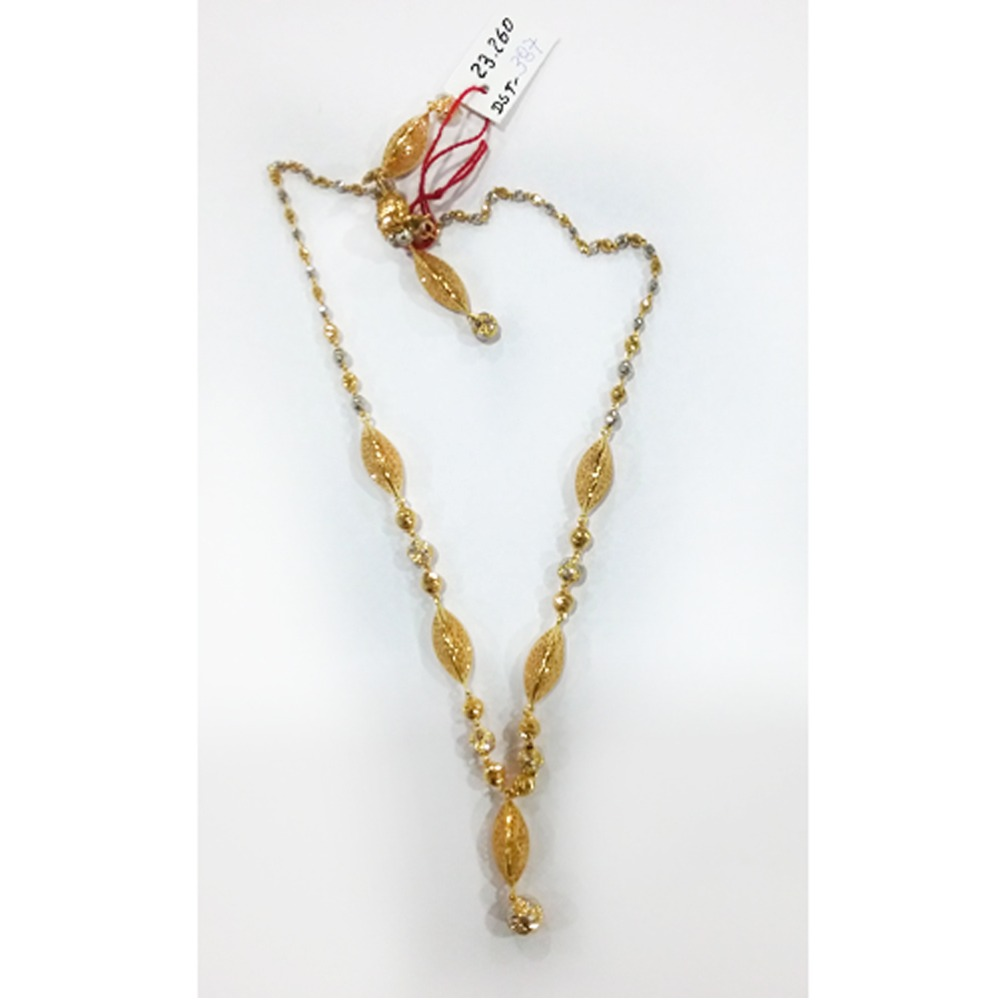22KT Gold Fancy Mala Dokia MJ - D003