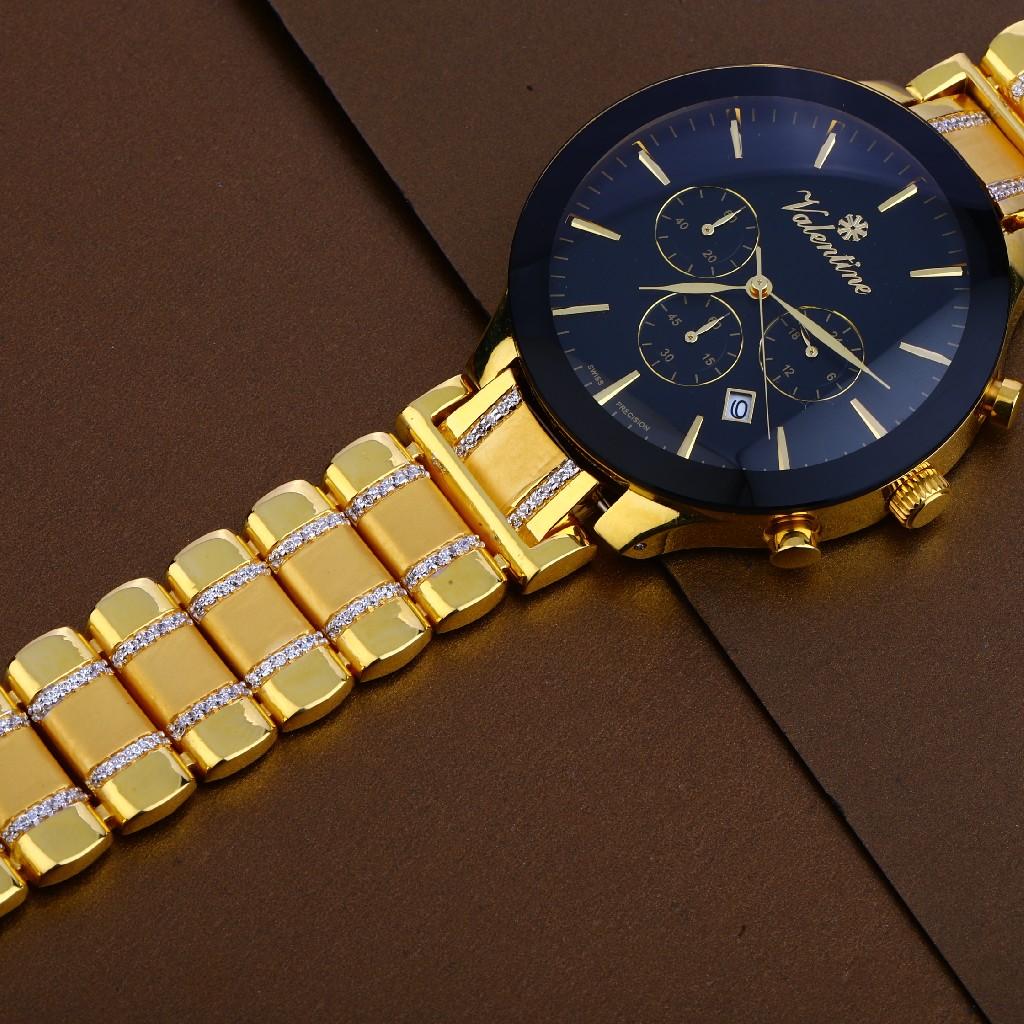 916 gold mens hallmark  watch mw23