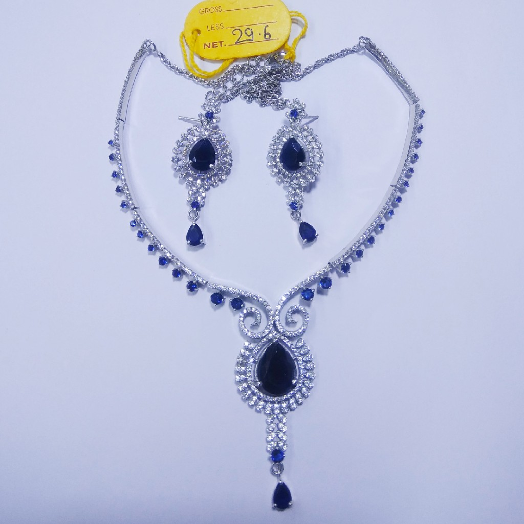 92.5 sterling silver necklace with Eatings ML-55