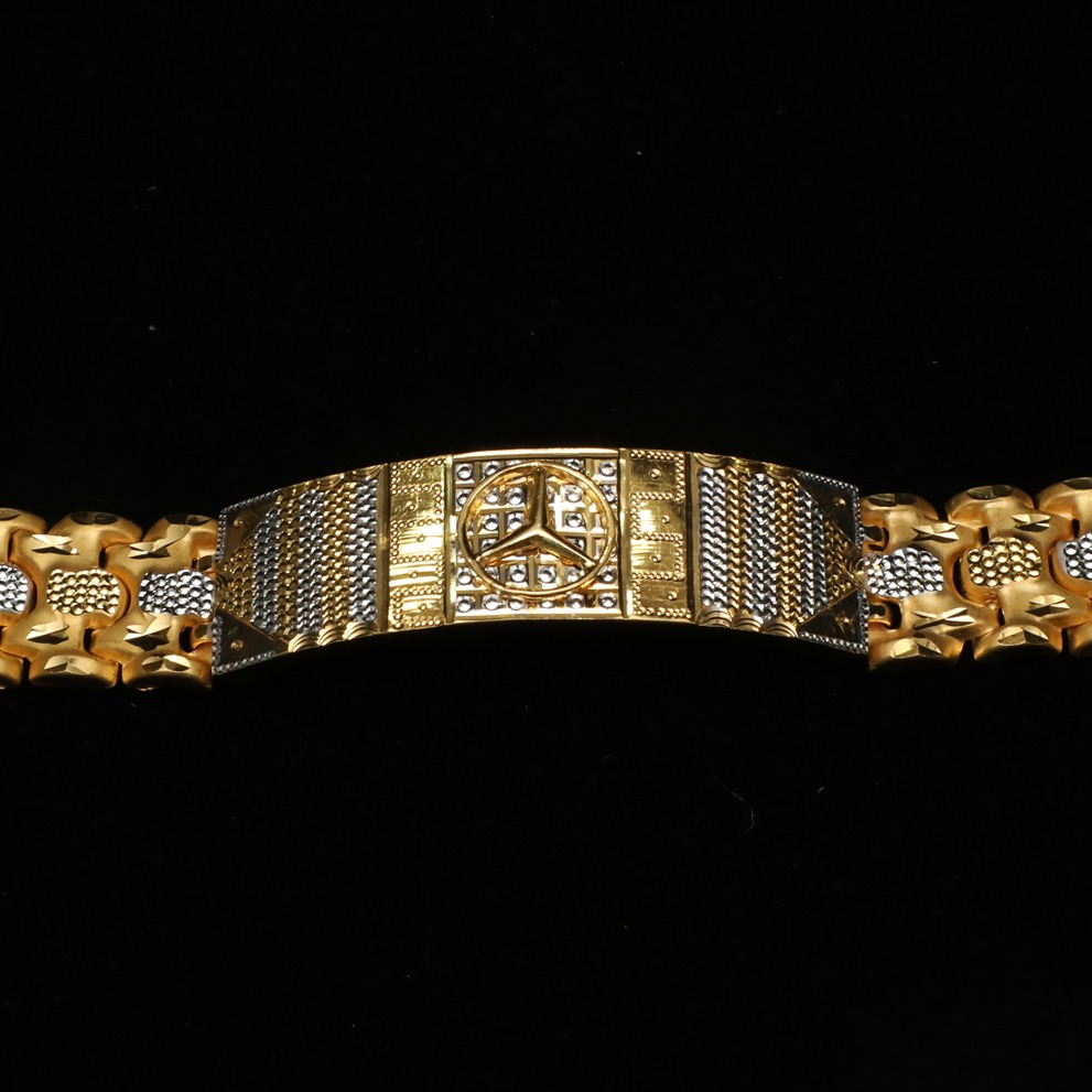 22KT Gold Stylish Gents Lucky ML-B009