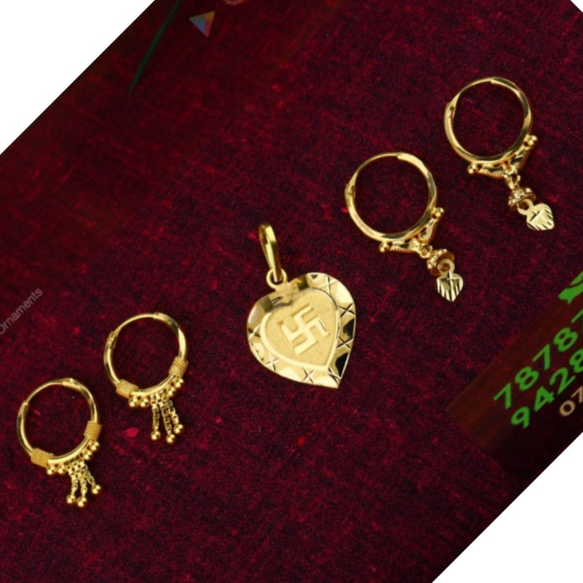 18 CT GOLD PENDANTS & NAKHALI