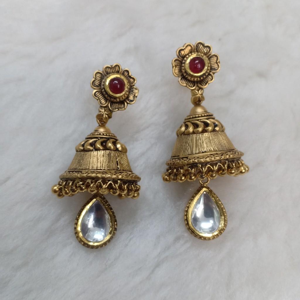 22k antique necklace set