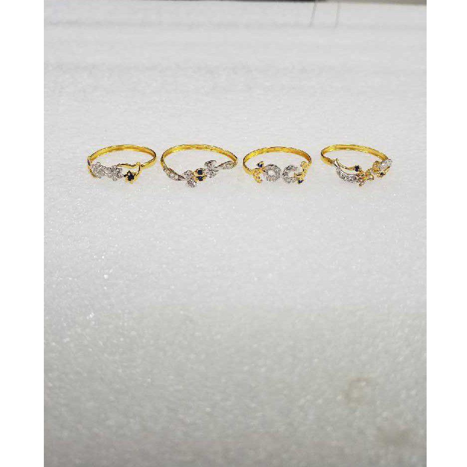 22KT Fancy Gold Ladies Rings