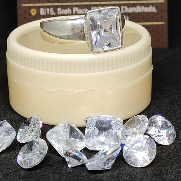 5ct round white diamond-heera