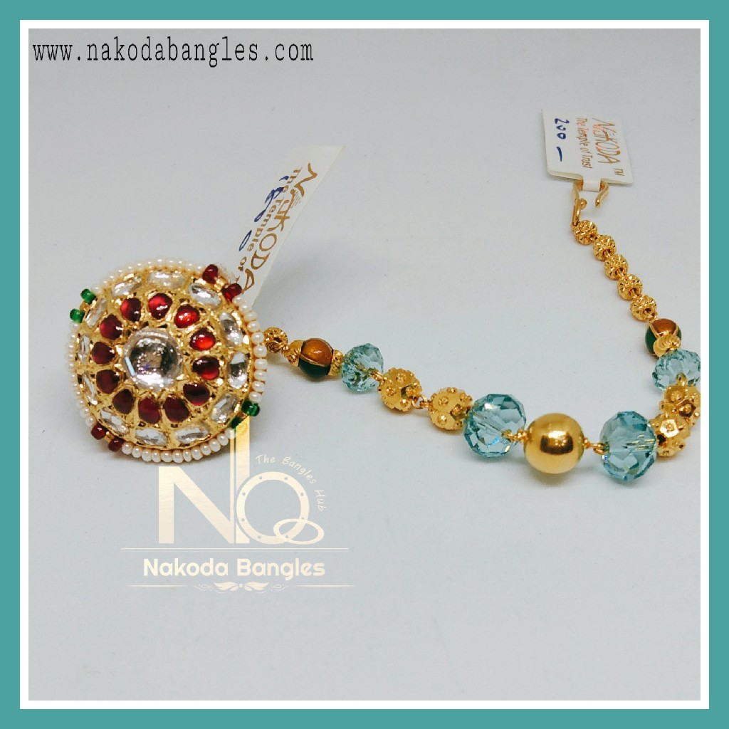 916 Gold Antique Rakhdi NB-266