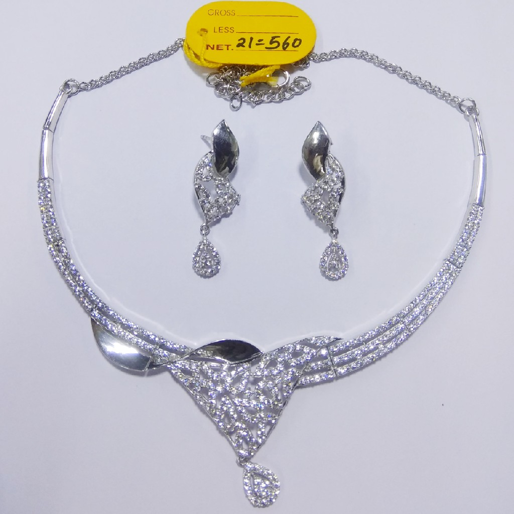92.5 sterling silver necklace with Eatings ML-57