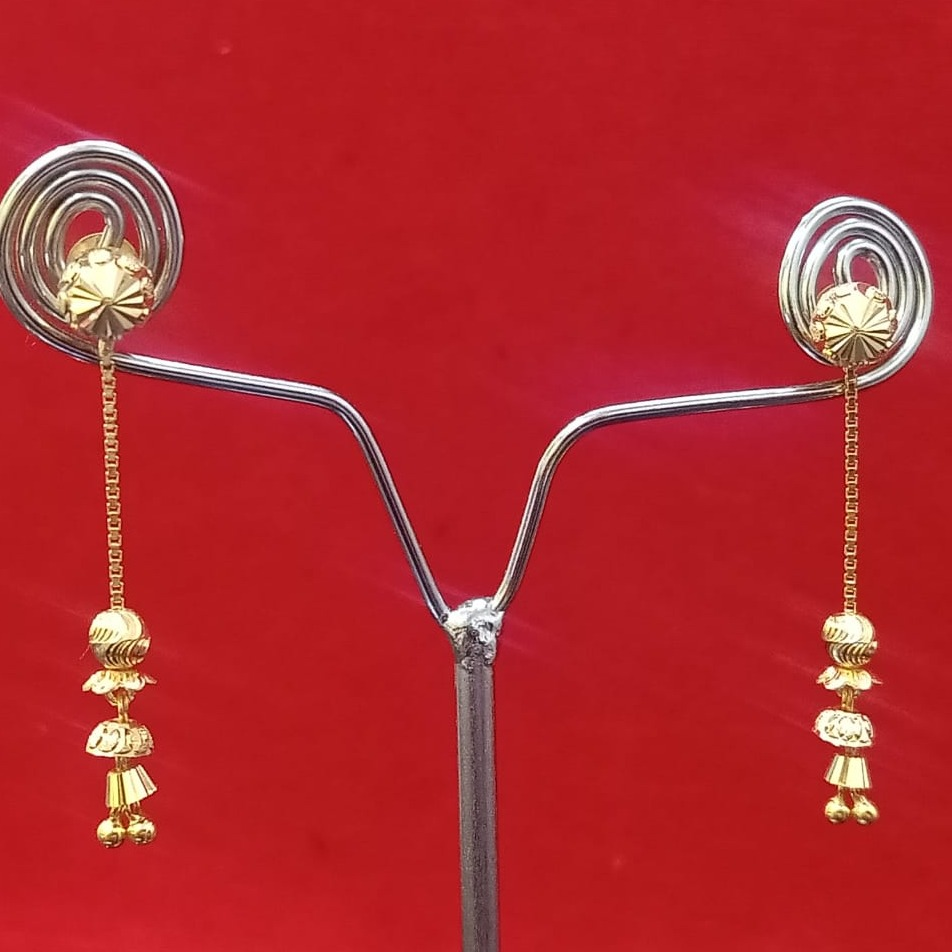 18CT gold attractive design soidora hallmark earring