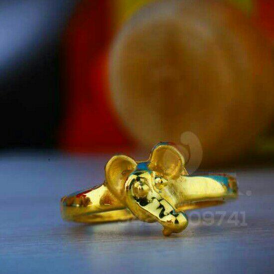 916 Plain Casting Baccha Ring