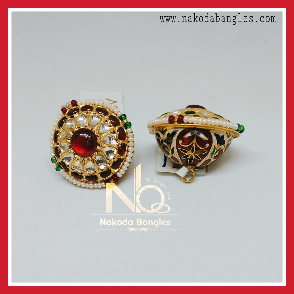 916 Gold Antique Rakhdi NB-256