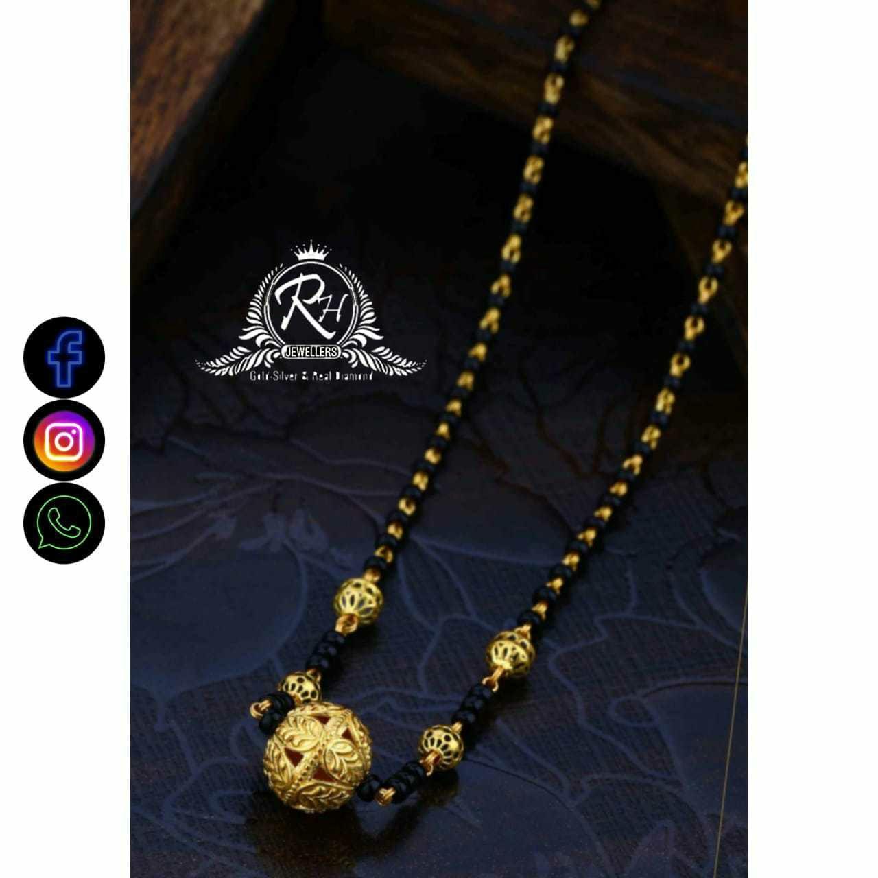 22 Carat Gold Classical Ladies Mangalsutra RH-LM733