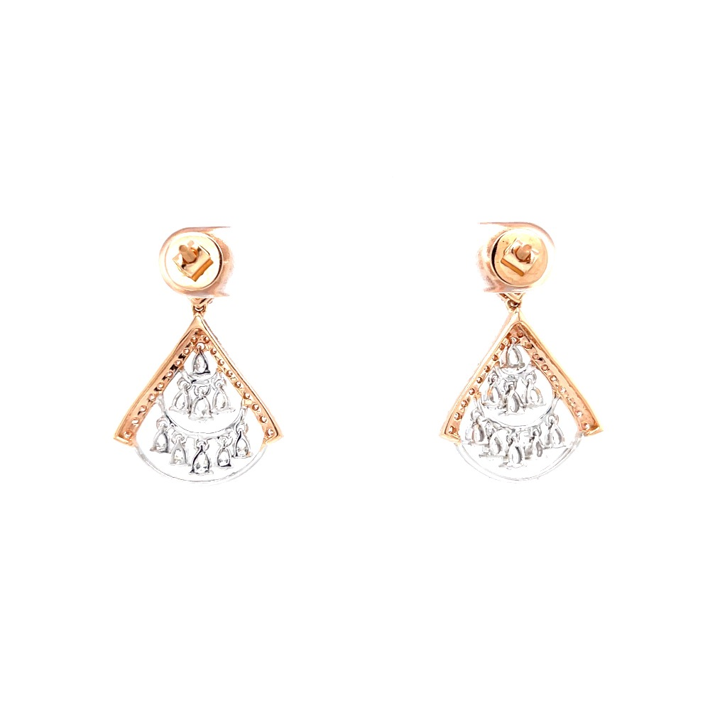 Drop latkan with tiny droplets with fancy shaped diamonds 0top162