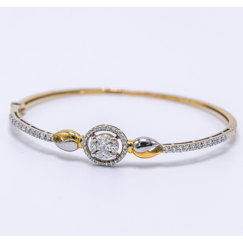 18K gold diamond bracelet agj-br-52