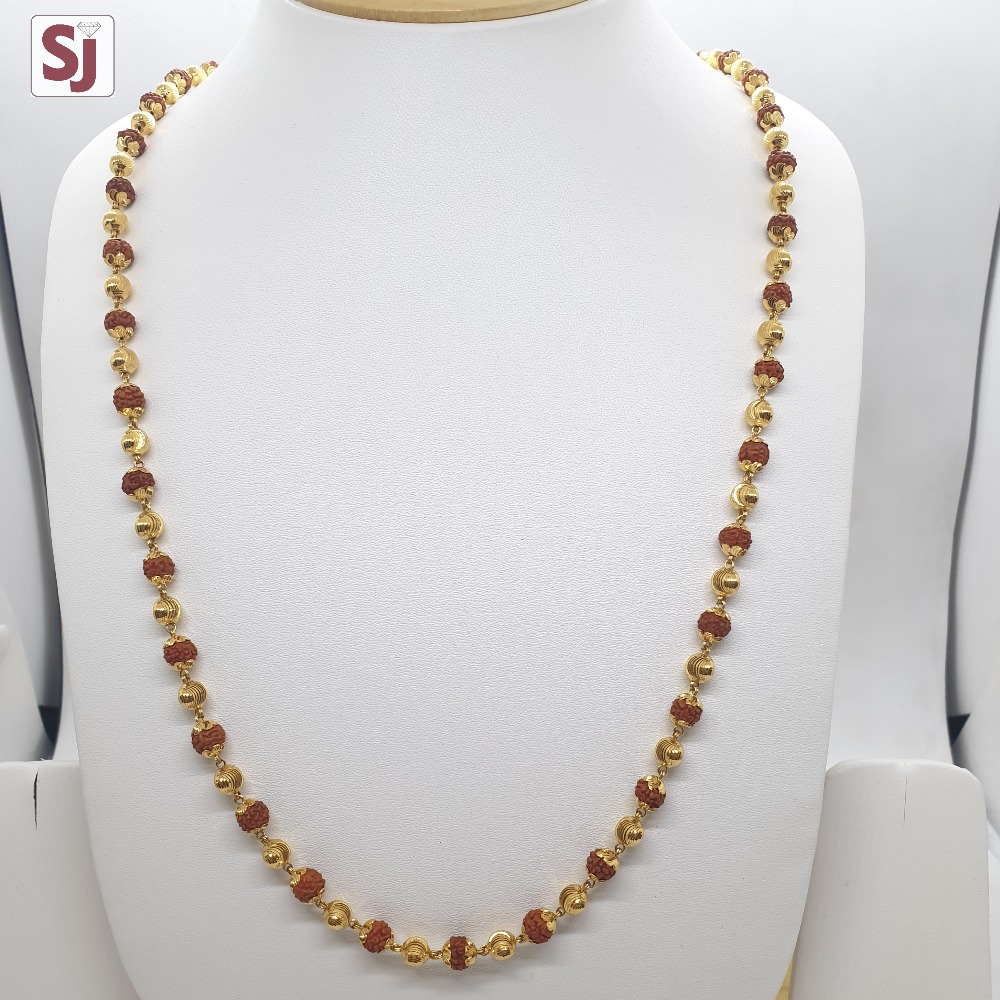 Rudraksh Mala RMG-0004 Gross Weight-27.270 Net Weight-23.540
