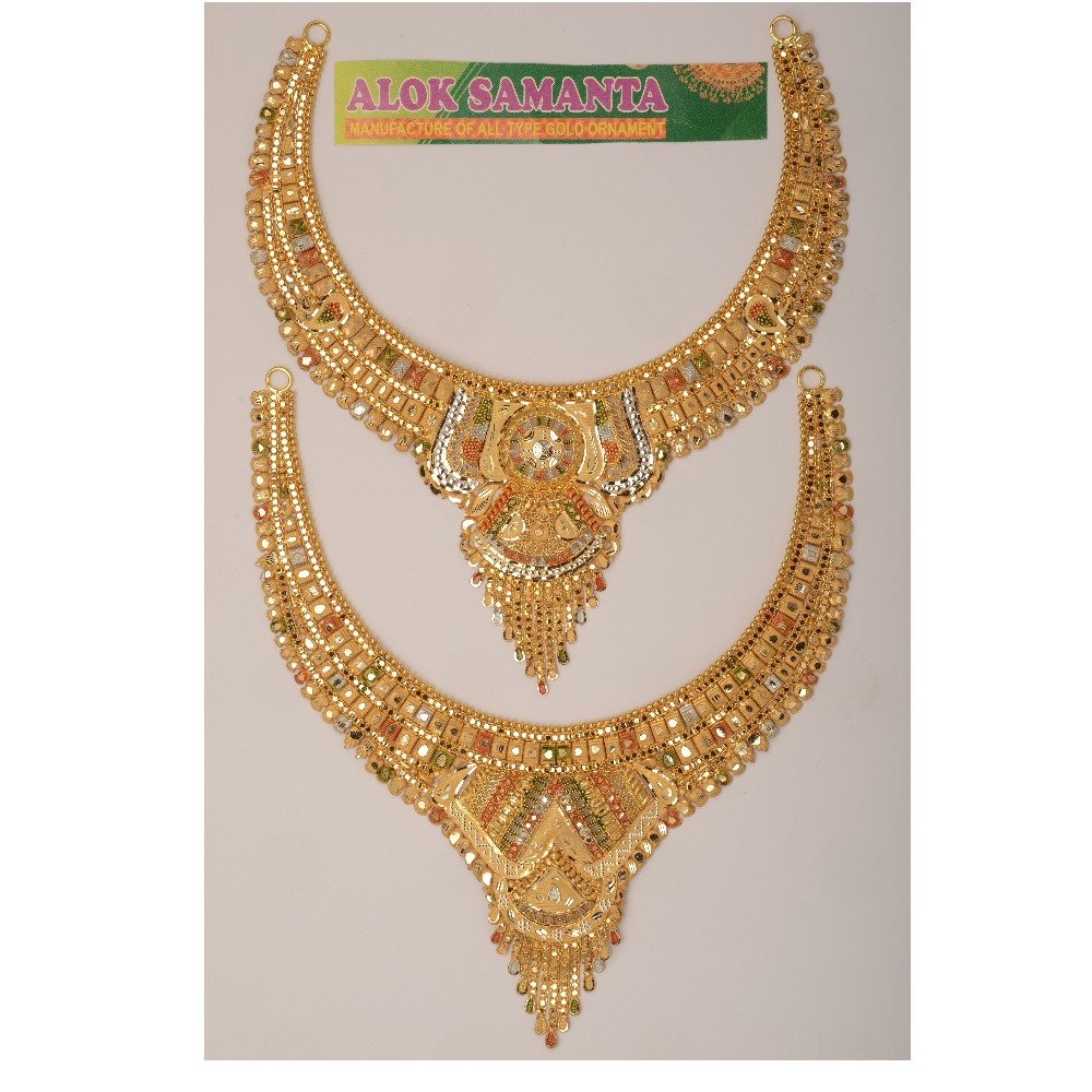 916 Traditional Gold Necklace