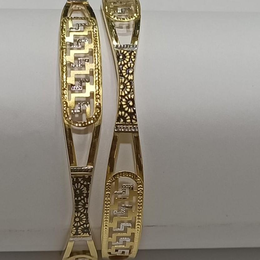 22KT Gold Hallmark Designer Ghaba Kadali SG28