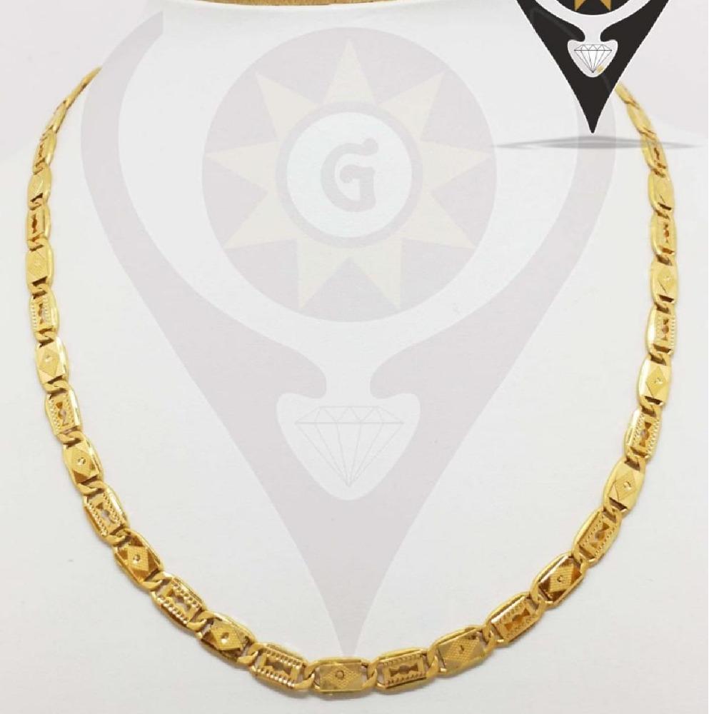916 gold party wear nawabi chain