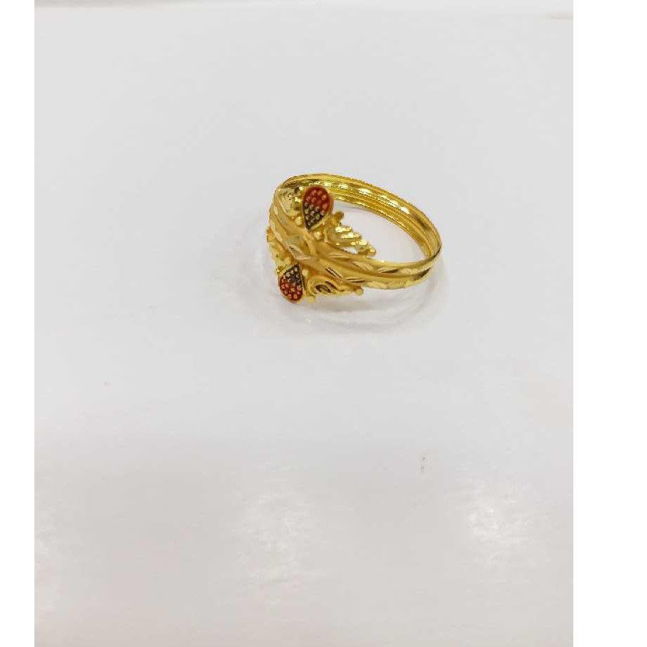 760 Gold ladies rings RJ-l002