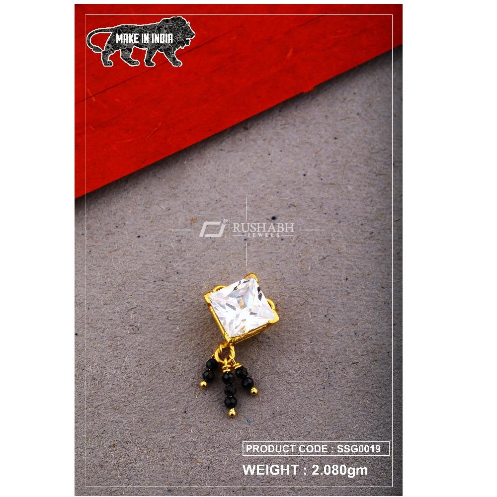 22 Carat 916 Gold Ladies singal stone msp smg0019