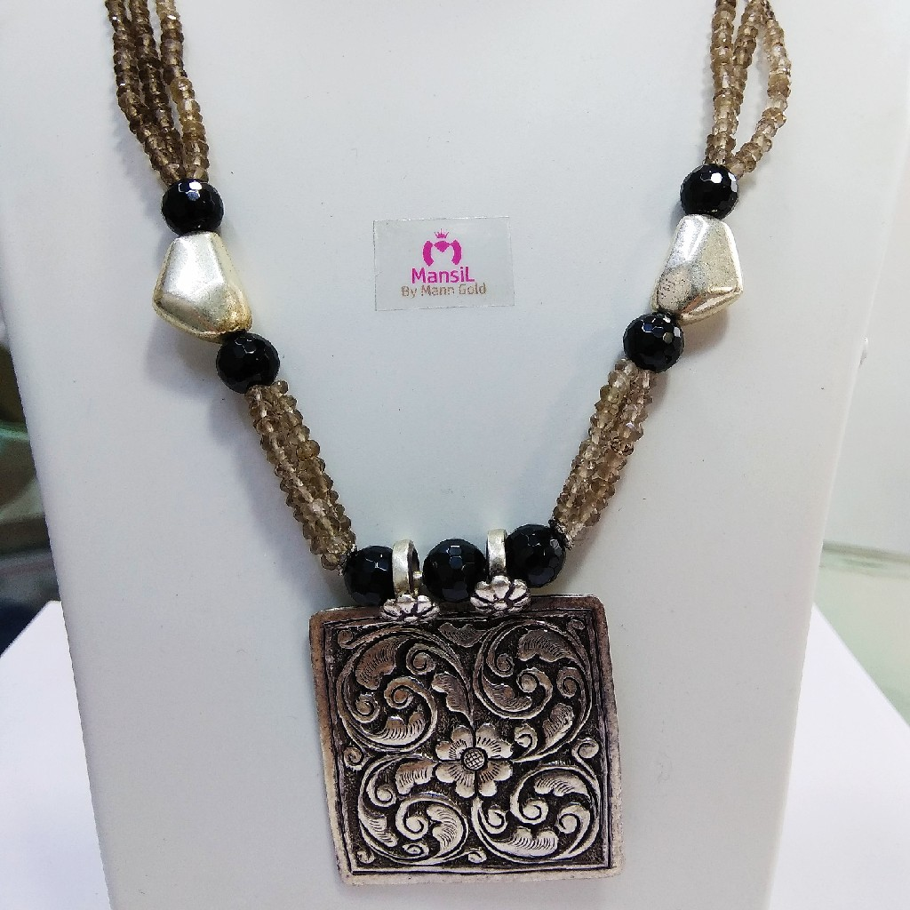 92.5 sterling silver necklace ML-65