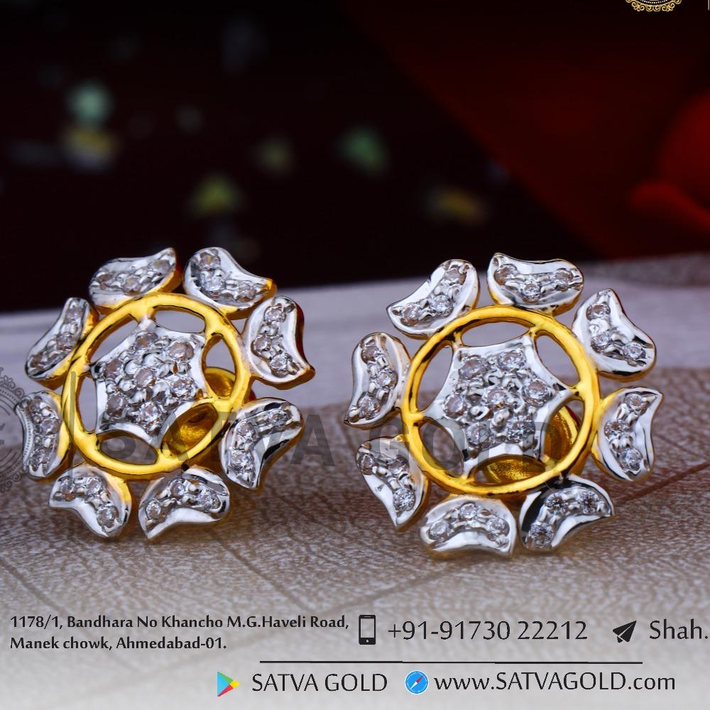 916 gold earrings sge-0049
