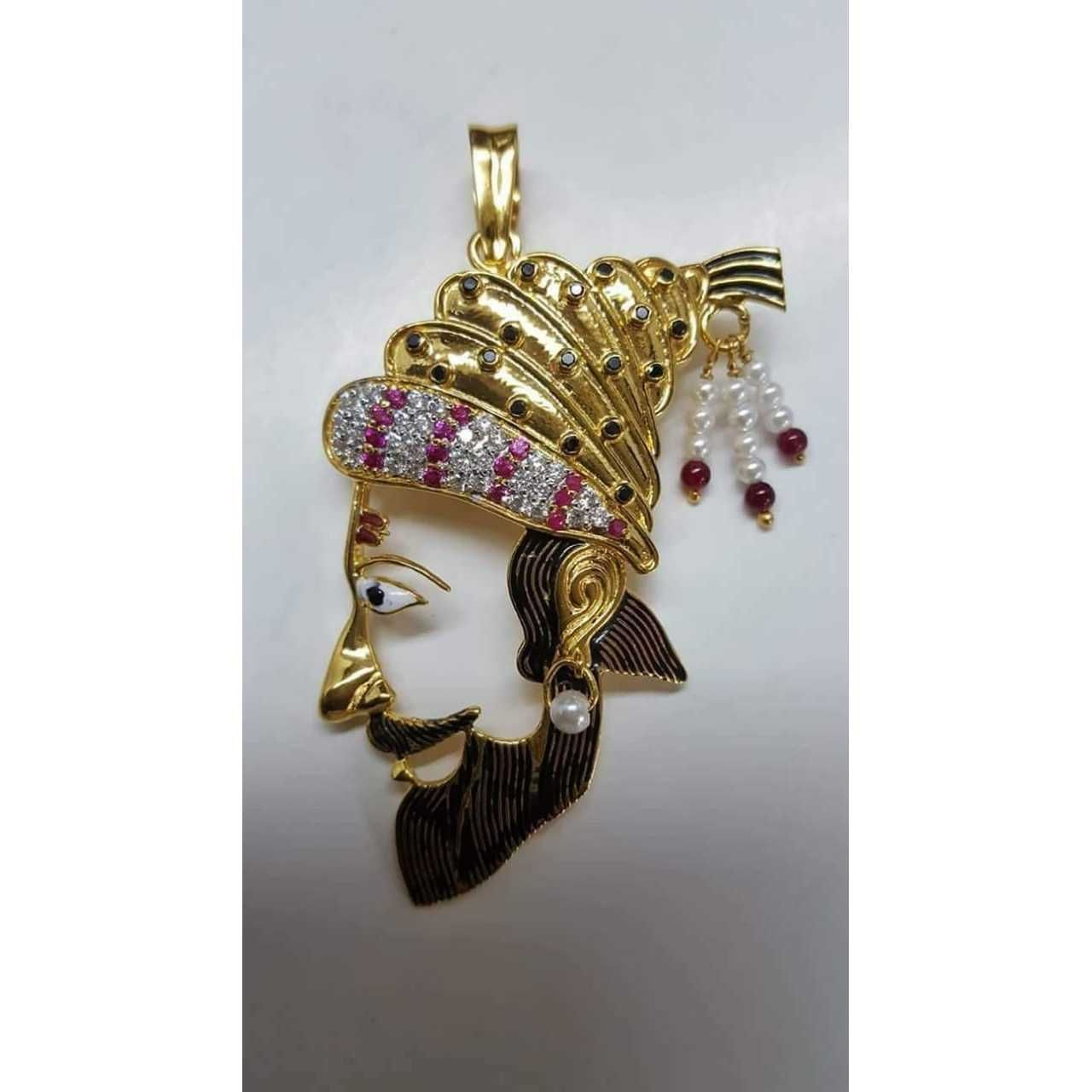22kt Gold Attractive Pendant