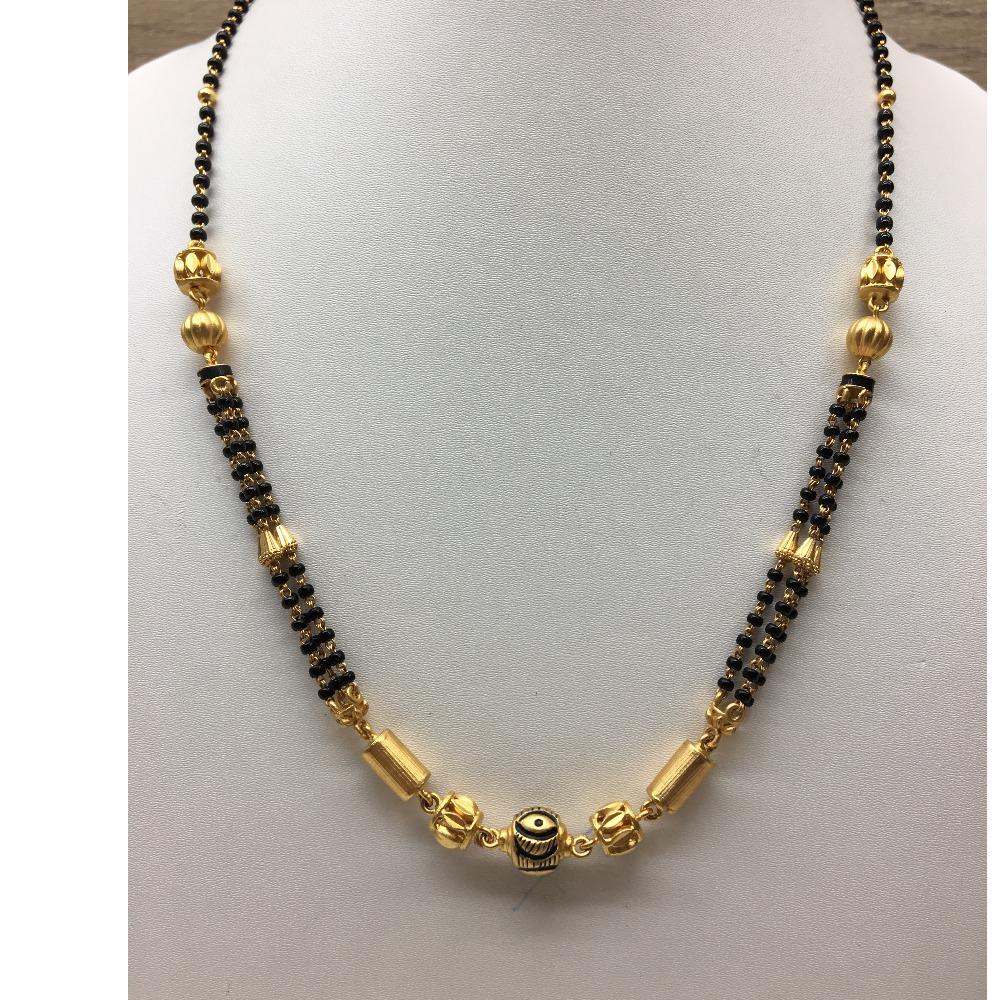 916gold delicate Wedding Jewellery Mangalsutra Dokia