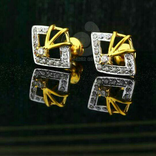 18ct Pricious Cz Gold Tops