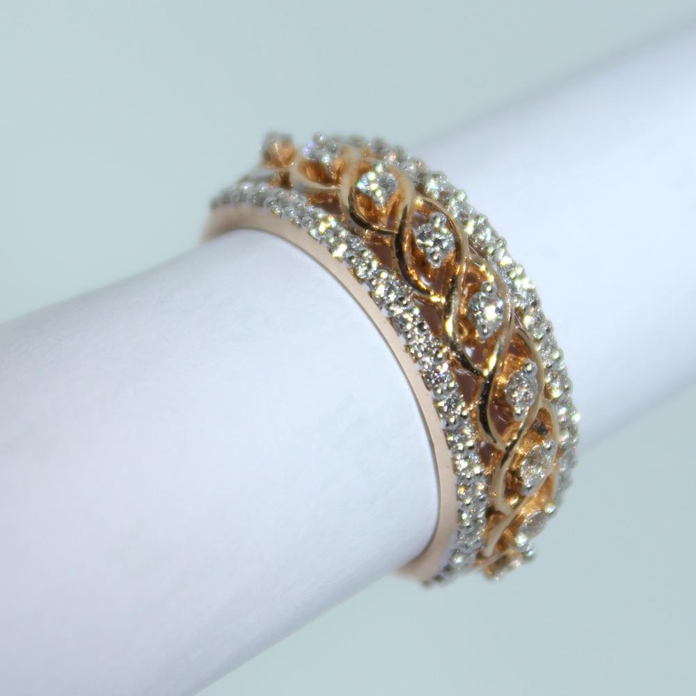 18K gold diamond ring agj-lr-310