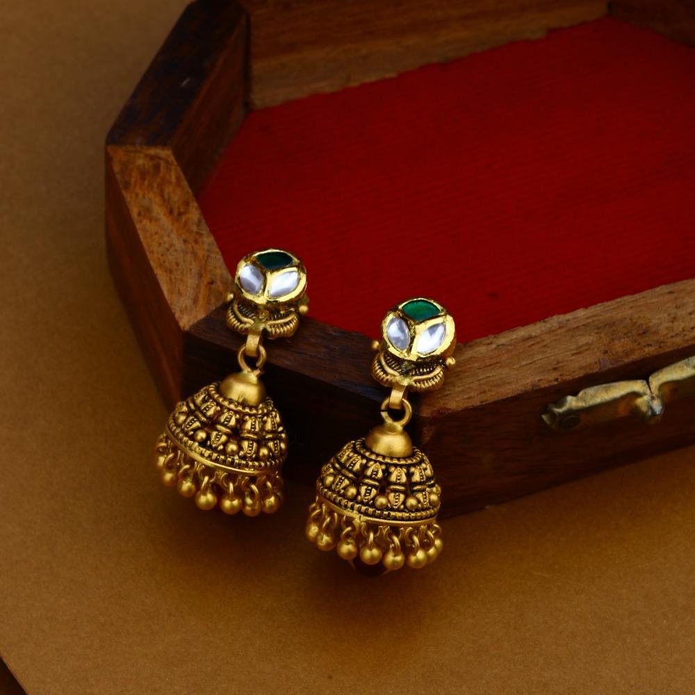 22KT Gold Antique Traditional Necklace Set