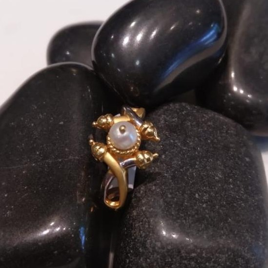 916 Gold Classic Design Hallmark Ring