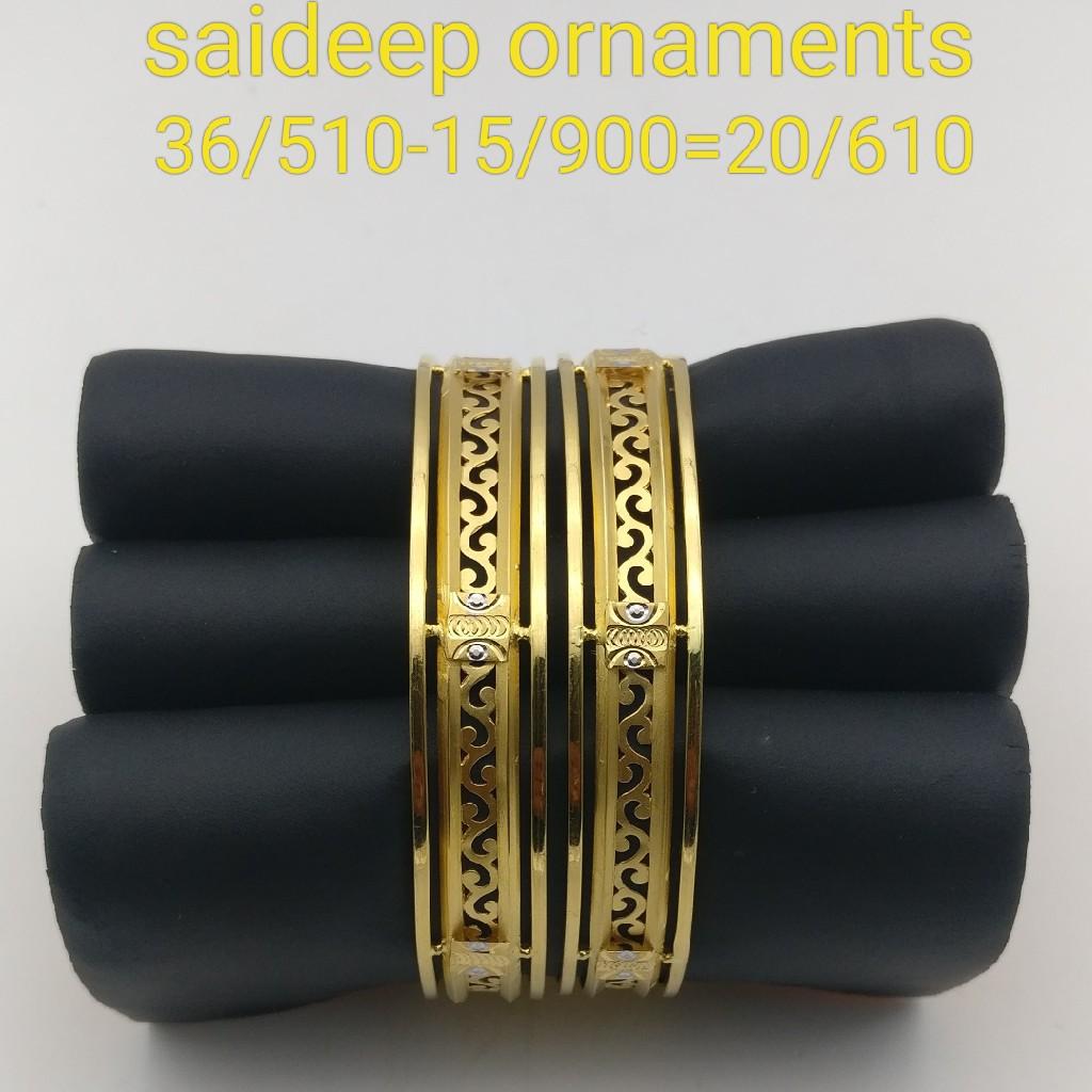 22kt 916 copper Bangles design