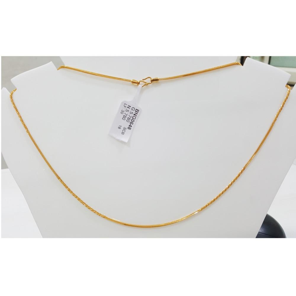 916 Gold Designer Bombay Fancy Nice Chain