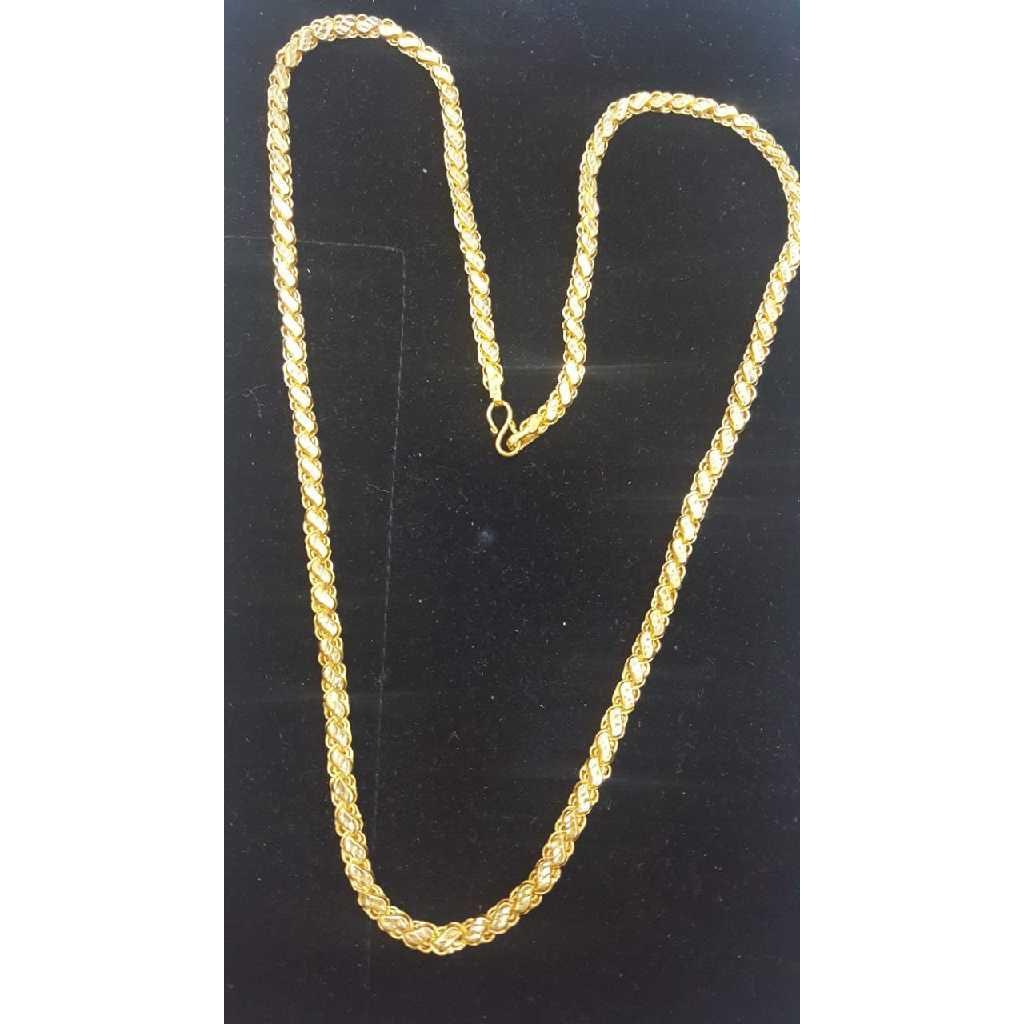 916 Gold Hollow Machine Chain