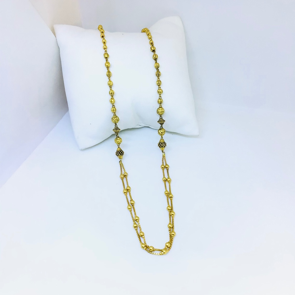 Designing fancy gold antique mala
