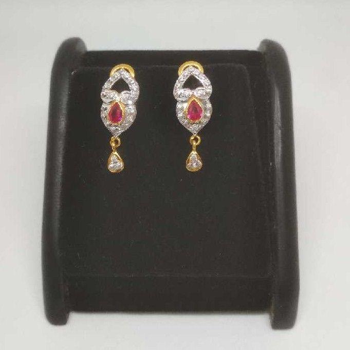 22 K Gold Fancy Earring.  NJ-E0932