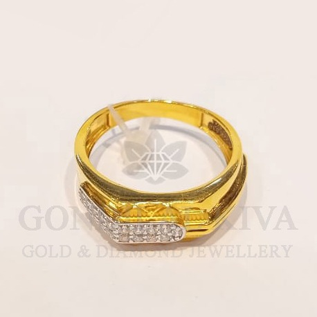 22kt gold ring ggr-h87