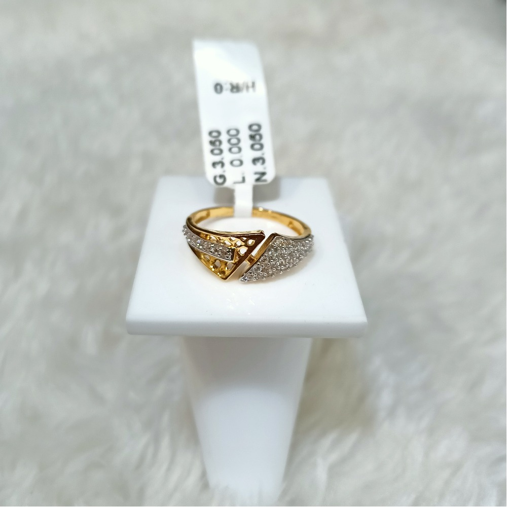 22 kt designer ring