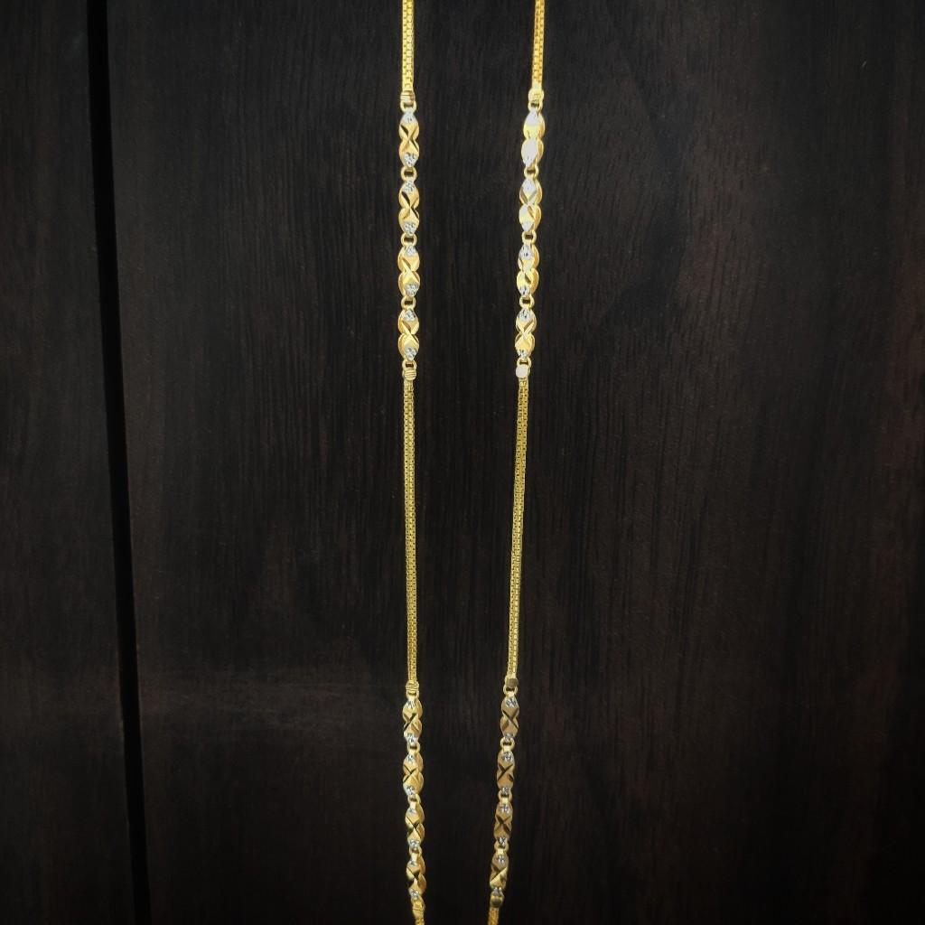 22 carat gold fancy ladies chain