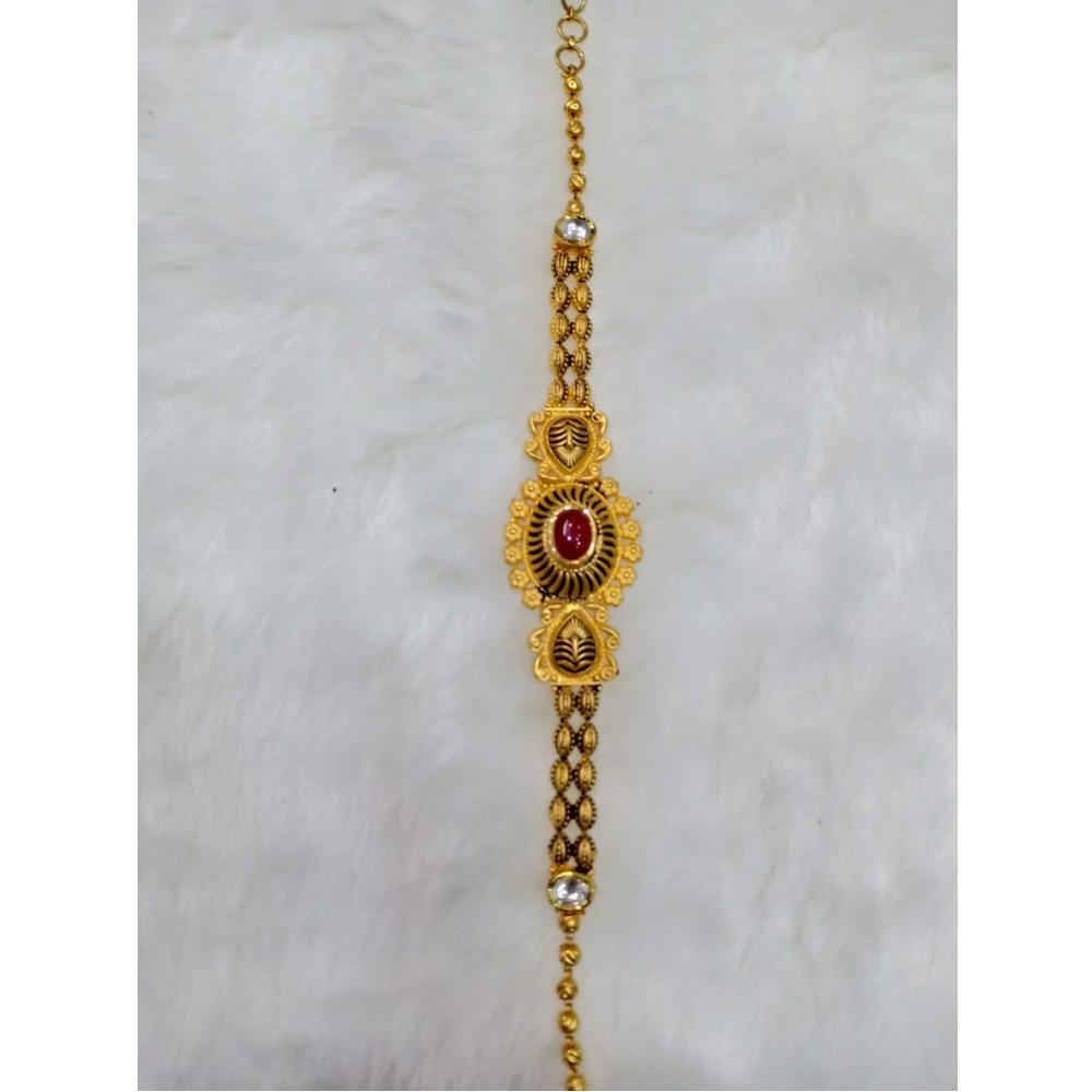 22kt gold designer ladies bracelet kv-AB004