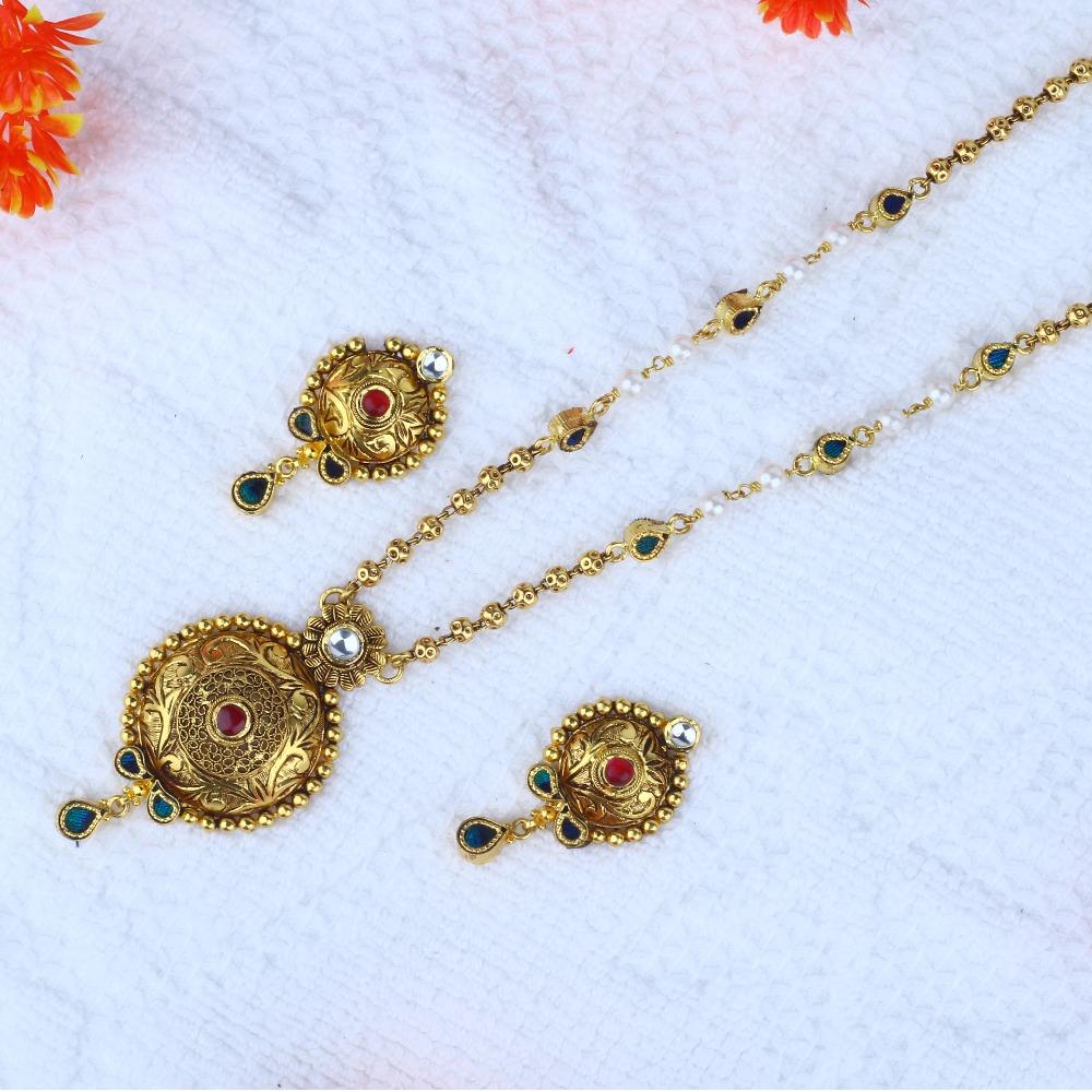 916 Gold Antique Dokiya JAC - N8389