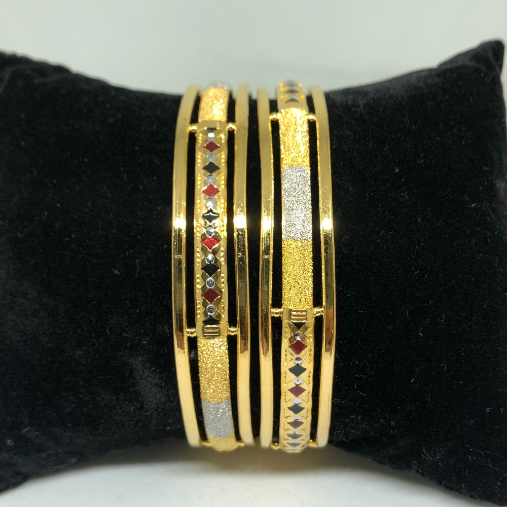 916 Gold Copper Kadli Bangle VN-B05
