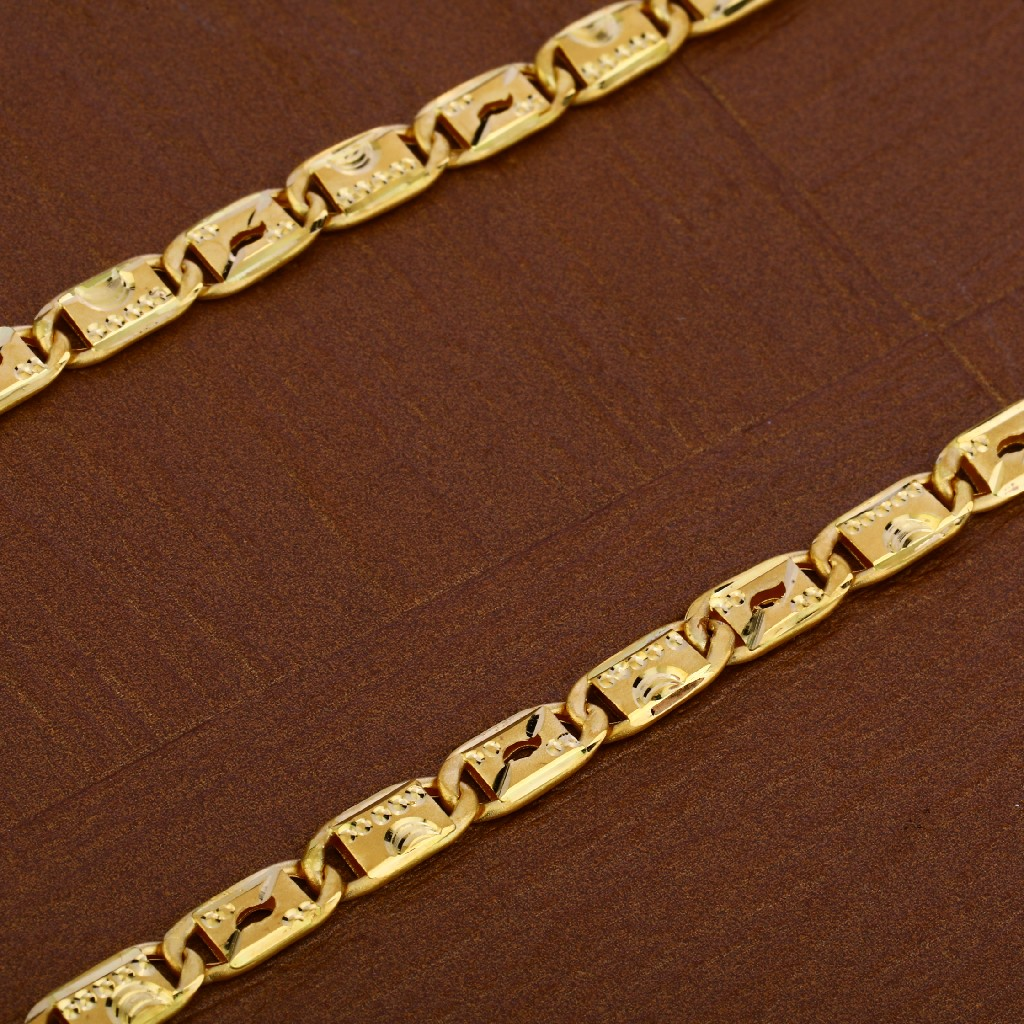 Mens 22K Gold Chain-MNC33
