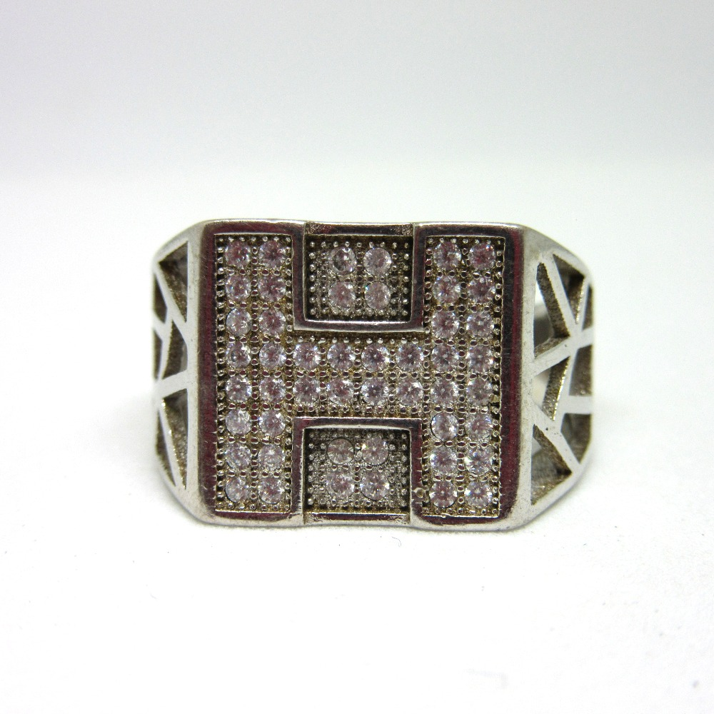 Silver 925 workwear ring for gents sr925-115