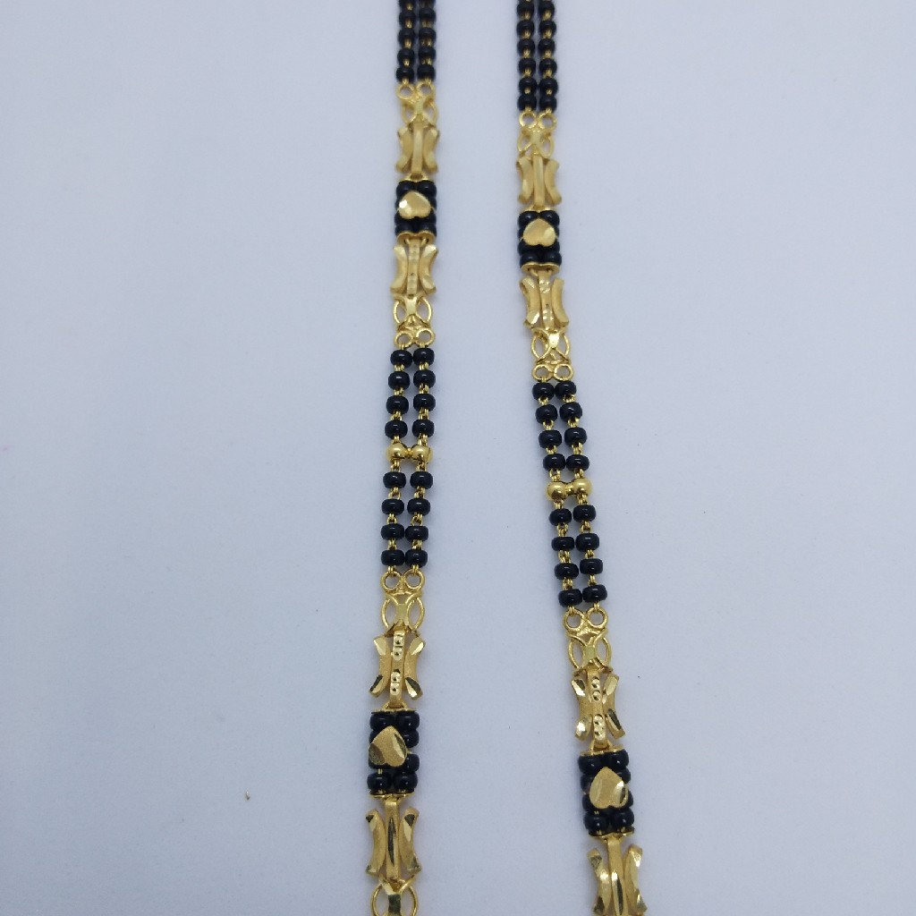 916 GOLD FANCY VATKI MANGALSUTRA TJ-036