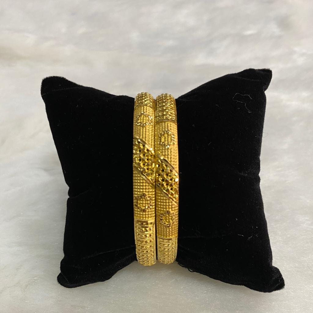 22k gold bangels
