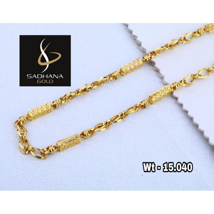 22KT Gold Fancy Chain