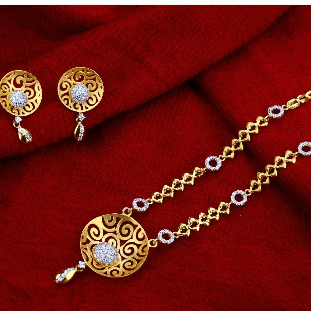 22kt Gold Hallmark  Designer  Chain Necklace CN01