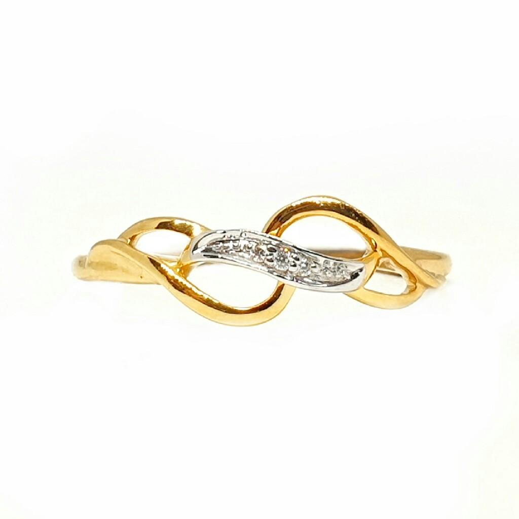 18k gold real diamond ring mga - rdr008
