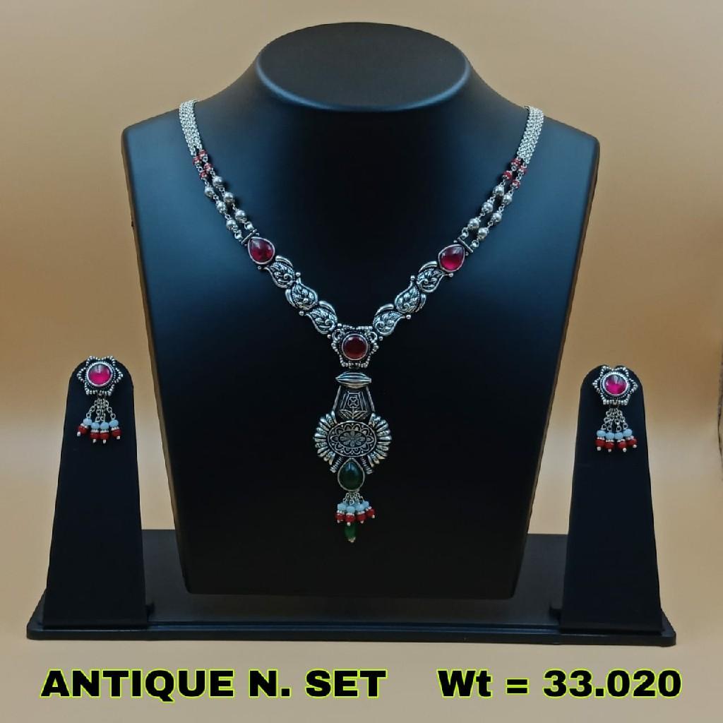92.5 Antique necklace set sl n026